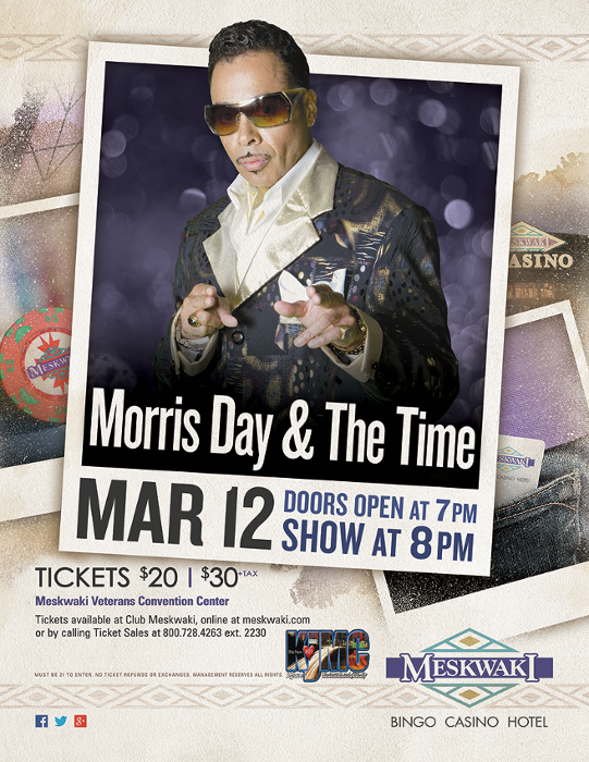 Morris Day - Poster